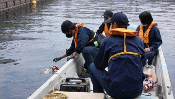 高校生が水中ロボットを開発,海底地形調査と沈降物確認の模擬訓練を実施